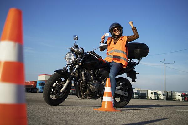 Licenza di moto