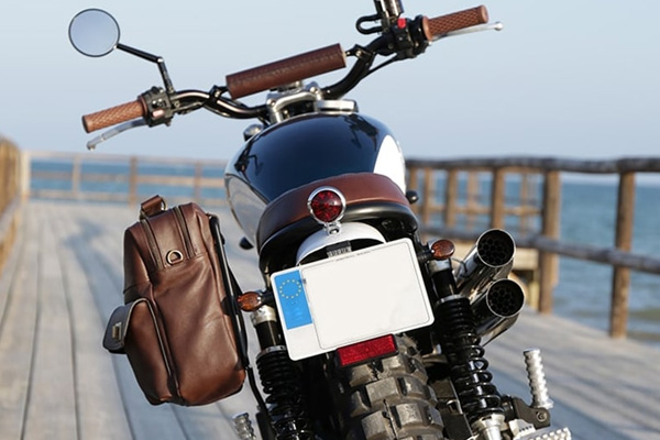 Registrazione della moto