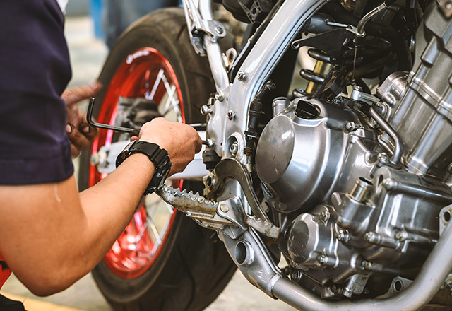 Regolazione del carburatore